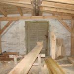 Bauarbeiten Dachgeschoss