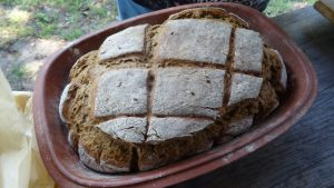 Brot aus dem Mühlenbackofen