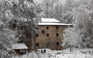 Mühle im Winterschlaf