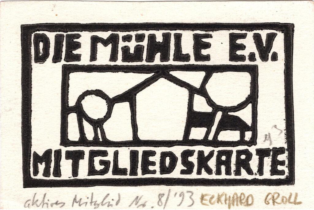 Mitgliedsausweis Eckhard Groll