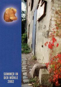 Flyer Sommer 2002