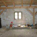 Bauarbeiten Dachgeschoss 1